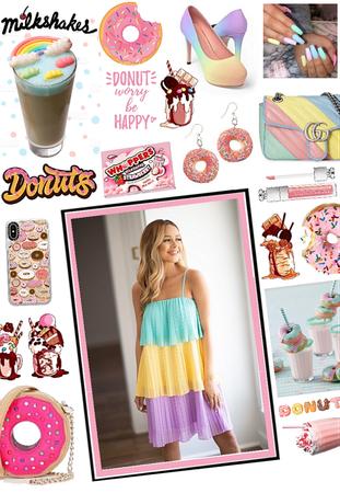 Donuts 'n milkshakes 🍩🍧