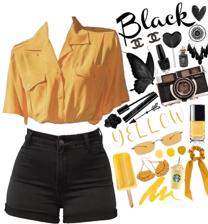💛Yellow And Black🖤