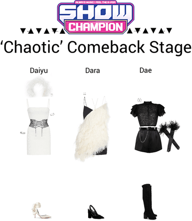 {3D} 'Chaotic' Show Champion Comeback Stage