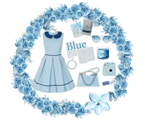 Blue Spring Outfiit