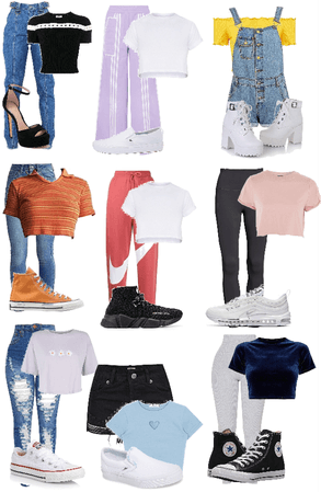 9 daily cute fits for everything!
