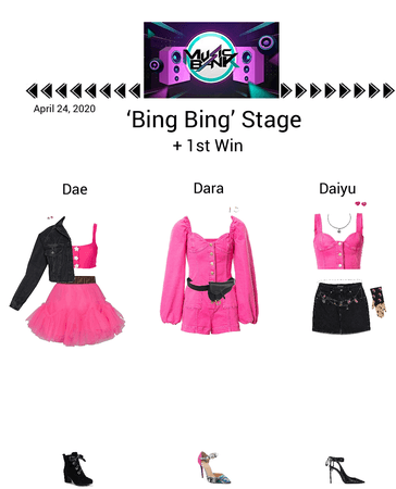 {3D}'Bing Bing' Music Bank Stage + 1st Win