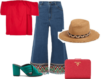 Styling Embroidered Denim #1