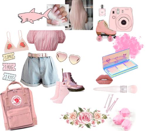 pink/peach