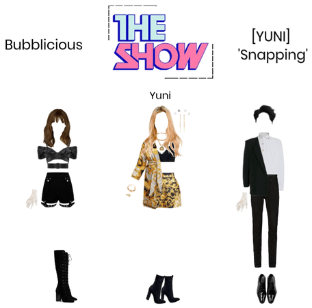Bubblicious (신기한) [YUNI'S SOLO DEBUT] 'Snapping'