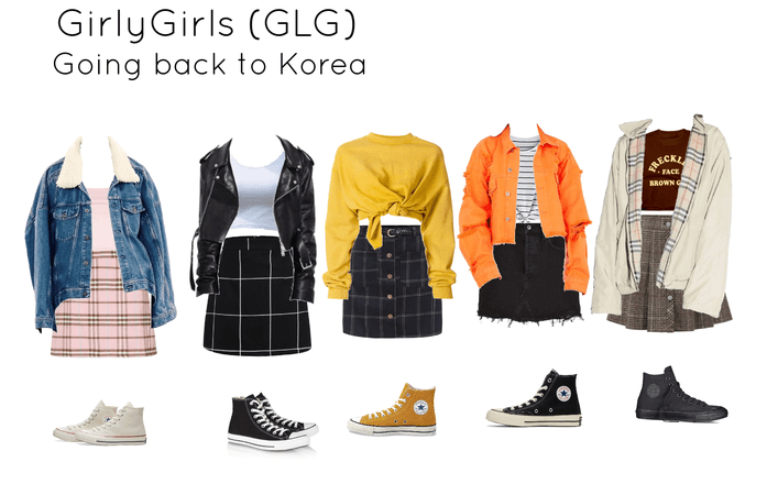 GirlyGirls (GLG) - Going back to Korea Airport Outfit