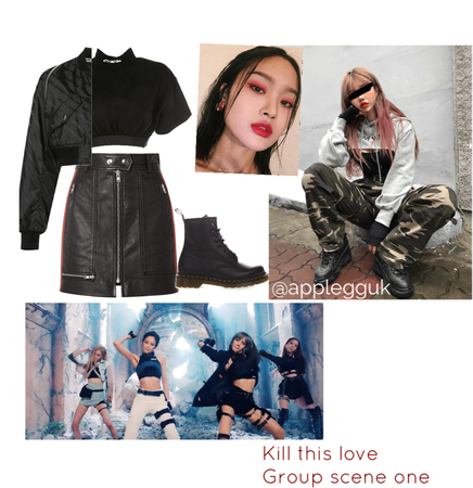 KILL THIS LOVE inspired outfit
