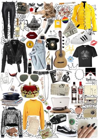 Freddie Mercury Aesthetic