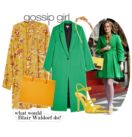 Blair Waldorf Costume
