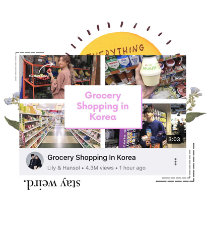 〖Lily&Hansol〗 Grocery Shopping In Seoul