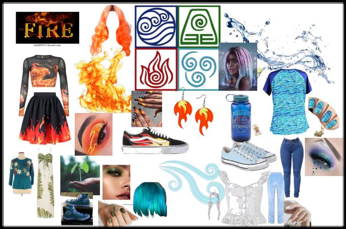 four elements oufits