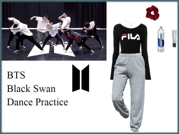 BTS- Black Swan Dance Practice