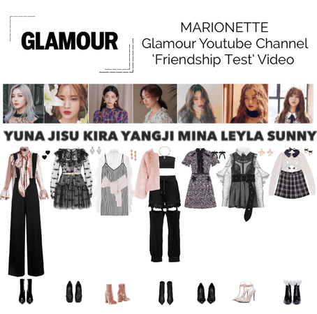 MARIONETTE (마리오네트) Glamour YouTube Channel | 'MARIONETTE Take a Friendship Test'