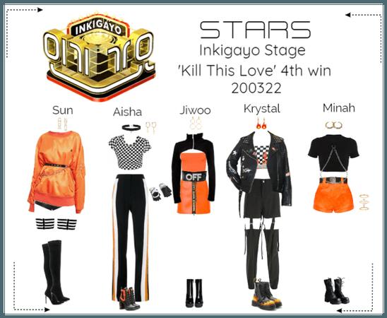 STARS | Inkigayo Stage | Kill This Love 4th win
