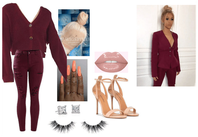 Cardi B outfit 2
