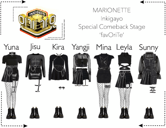 MARIONETTE (마리오네트) [Inkigayo] 'favOriTe' | Special Comeback Stage