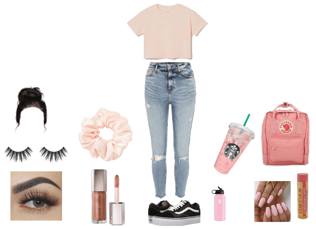 Pink vsco outfit