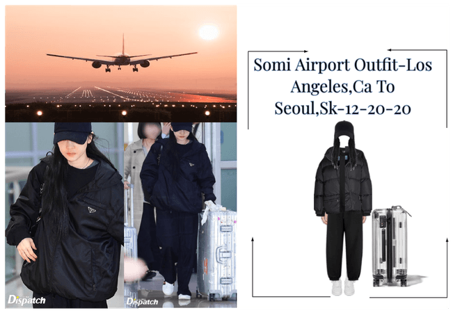 Somi Airport Outfit-12/20/20