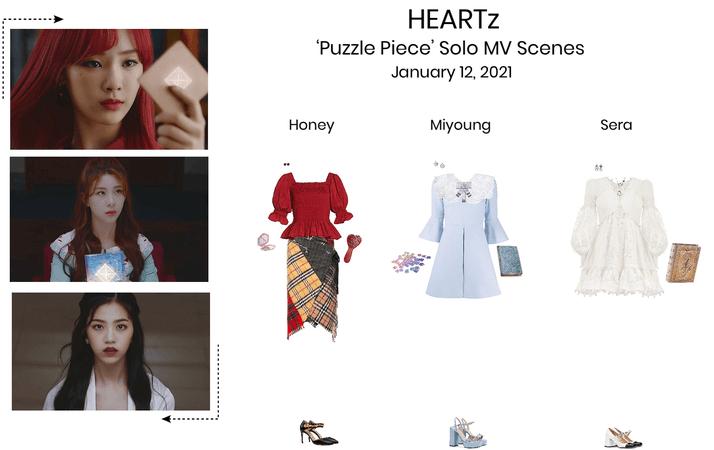 HEARTz//Puzzle Piece Solo Scenes