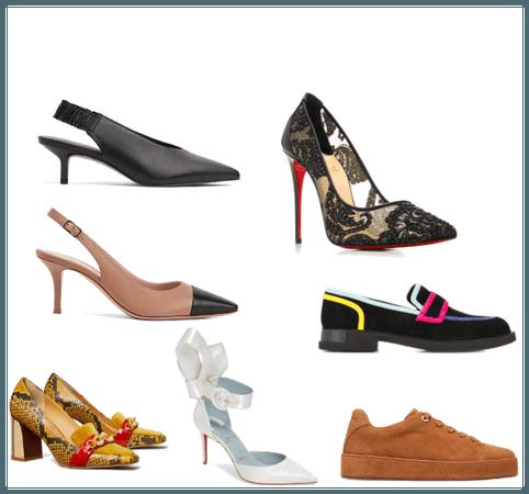 Sapatos 7 estilos