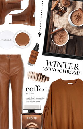 winter monochrome: coffee
