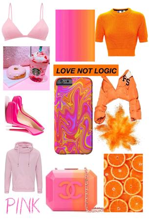 pink and orange challenge