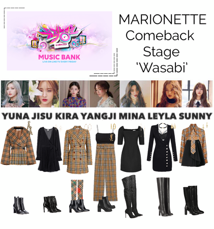 {MARIONETTE} Music Bank Comeback Stage