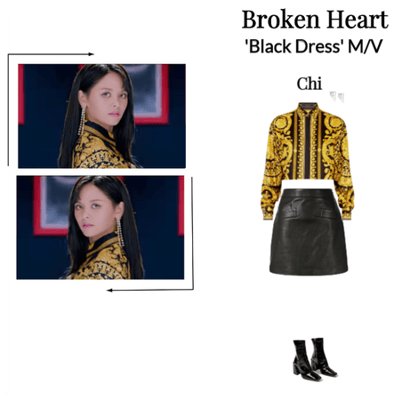 Broken Heart 'Black Dress' Chi Solo Scene