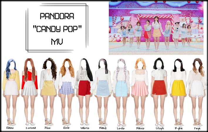 Candy Pop, MV