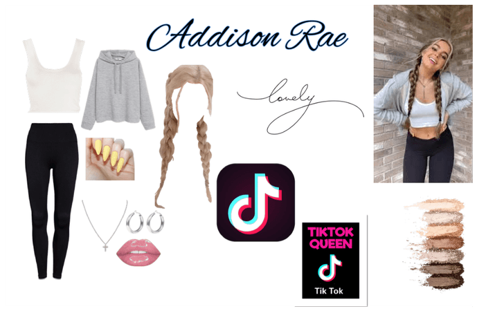 Addison Rae inspired outfit