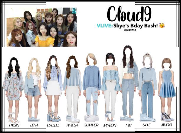 Cloud9 (구름아홉)   VLIVE: Skye's Bday Bash!   201213