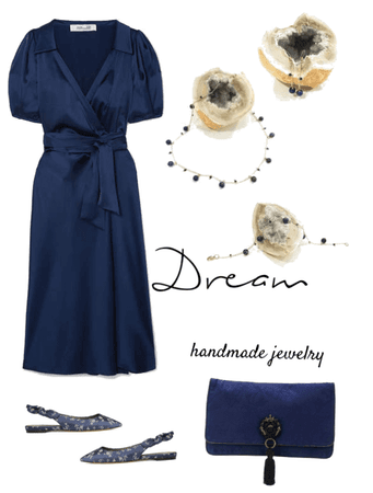 Dream handmade jewelry - Dark blue