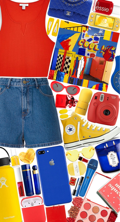 Bold Colors❤️💙💛