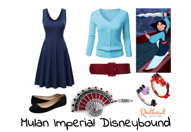 Mulan Imperial Palace Look