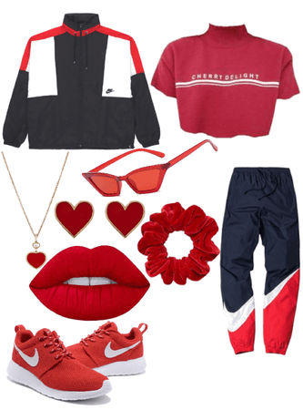 Rainbow Fashion: Red
