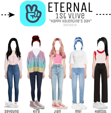 ETERNAL- VLive- Happy Valentine's day