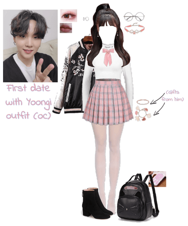 First date with Yoongi outfit (oc)