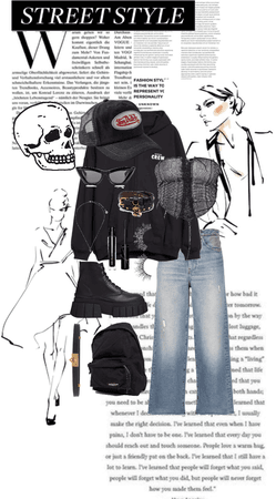 Black Street Outfit