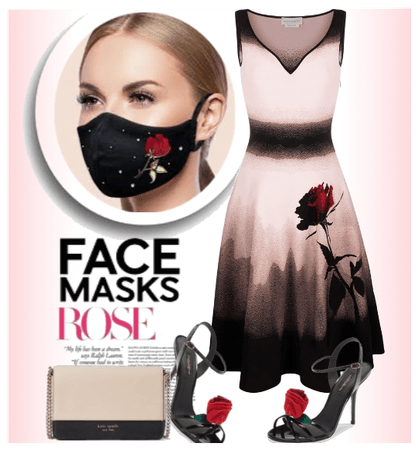 Face Mask Rose