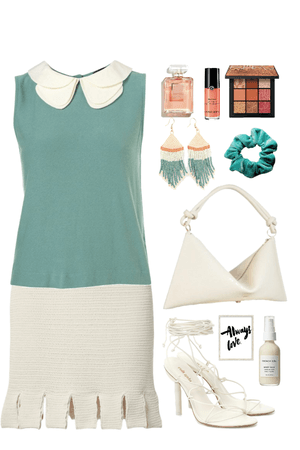 I'm not sure of the exact name of the Pantone Color but it's something similar to a dark mint.
