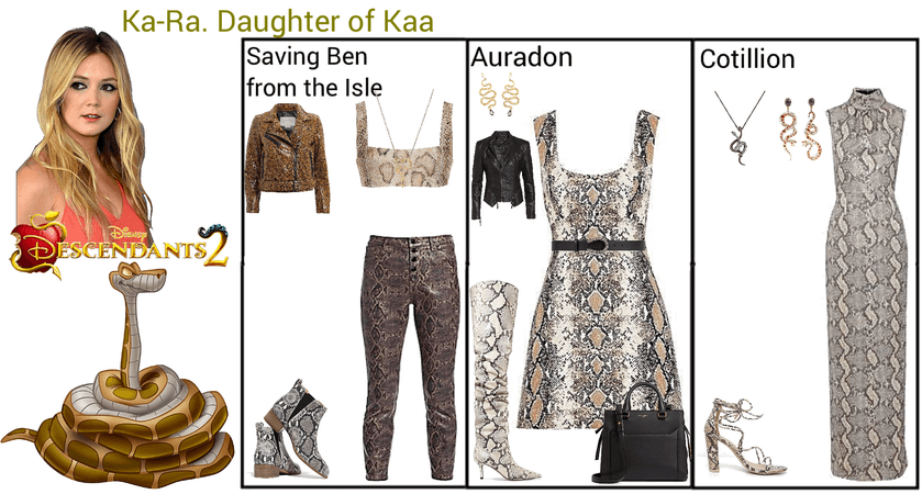 Ka-Ra. Daughter of Kaa. Descendants 2