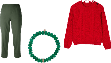 Green Red complementary