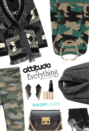 Standing Out In Camo #OOTD