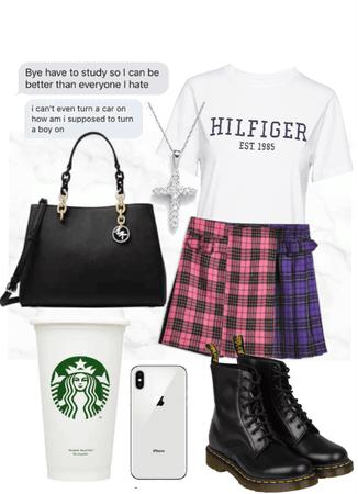 Typical school girl