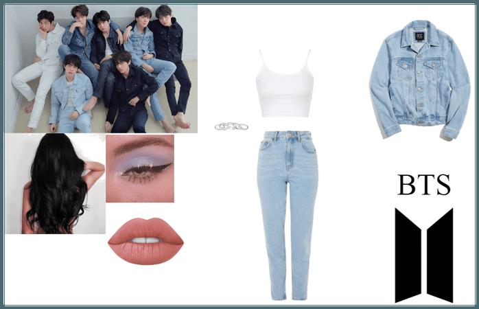 BTS- Jeans Photoshoot