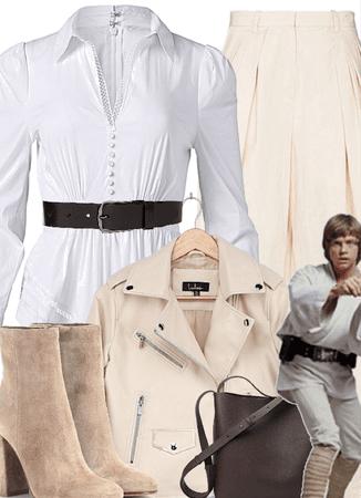 Winter: Luke Skywalker