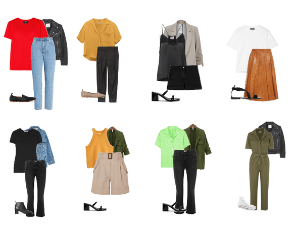 spring capsule outfits - 8- 3