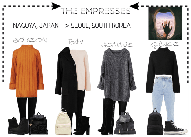 [THE EMPRESSES] TRAVELS: JAPAN TO SEOUL, SK