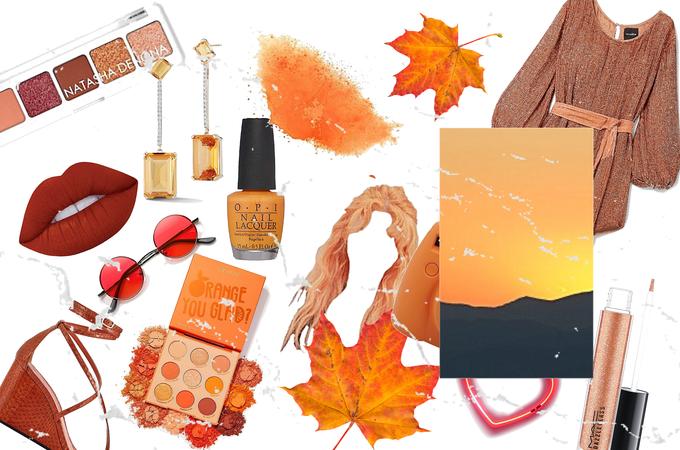 Fall sunset 🌇