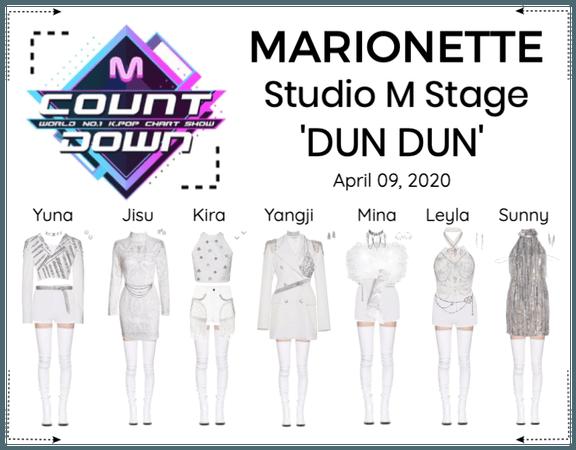 MARIONETTE (마리오네트) [M COUNTDOWN] Studio M Stage